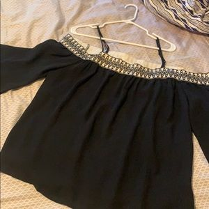 Size XL Chiffon Off the Shoulder Top